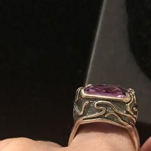 """Silpada Jewelry - Silpada Sterling  """"Lavender Fields"""" Purple Ring"""